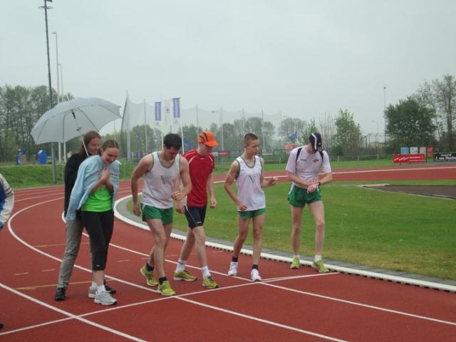Afbeelding start allereerste sprintdriekamp