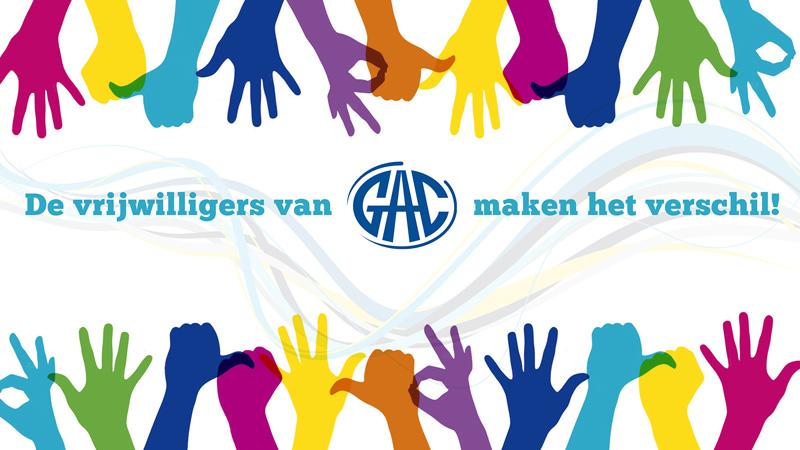 Afbeelding vrijwilligers van GAC maken het verschil
