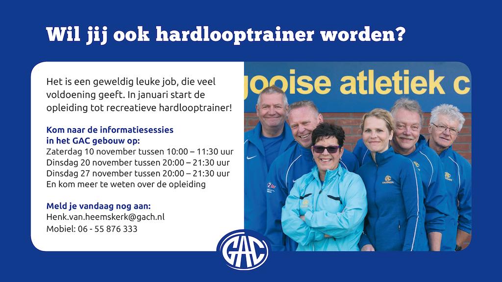 Wil Jij Ook Hardlooptrainer Worden?