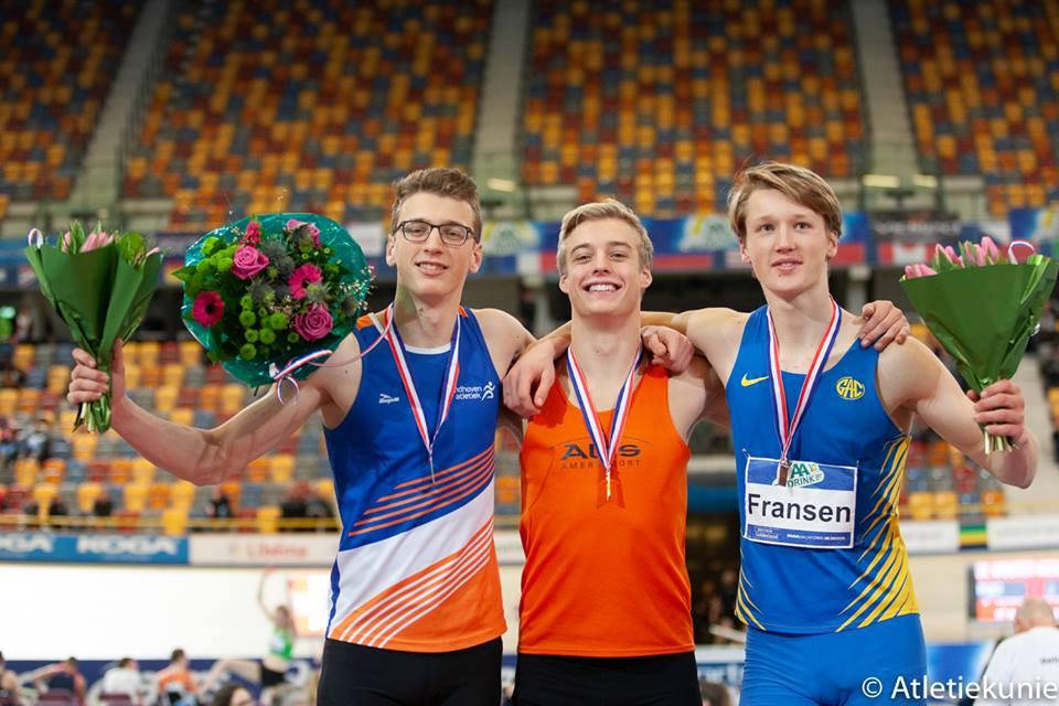 Drie Medailles Bij NK Indoor Meerkamp