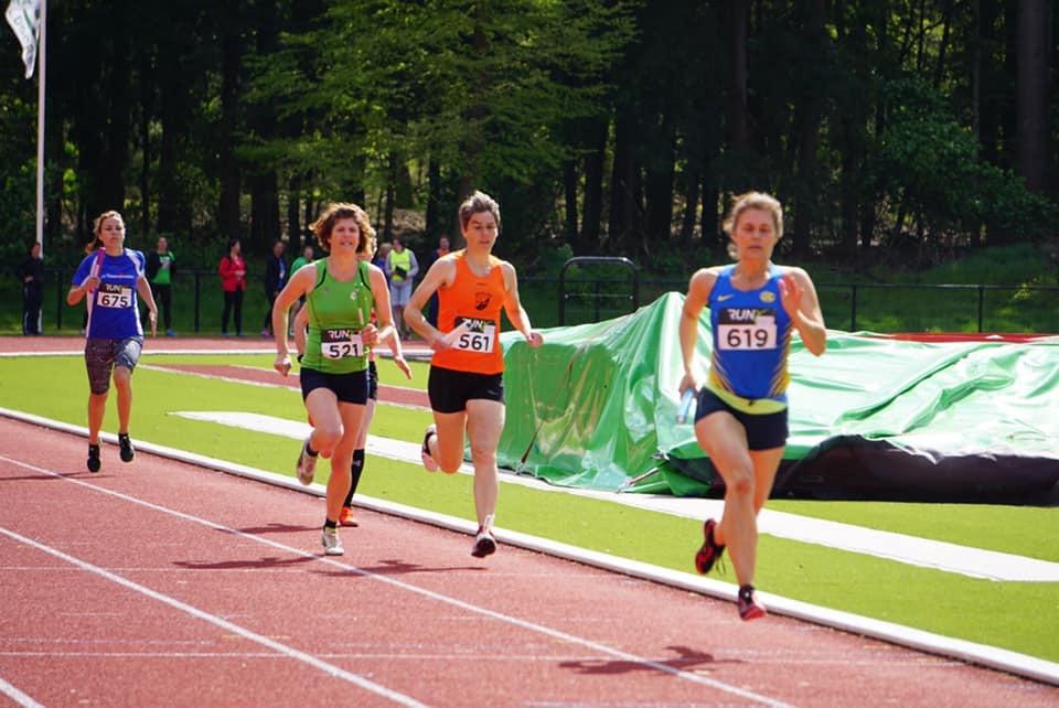 Vrouwen Masters Lopen Nederlands Record Op Zweedse Estafette
