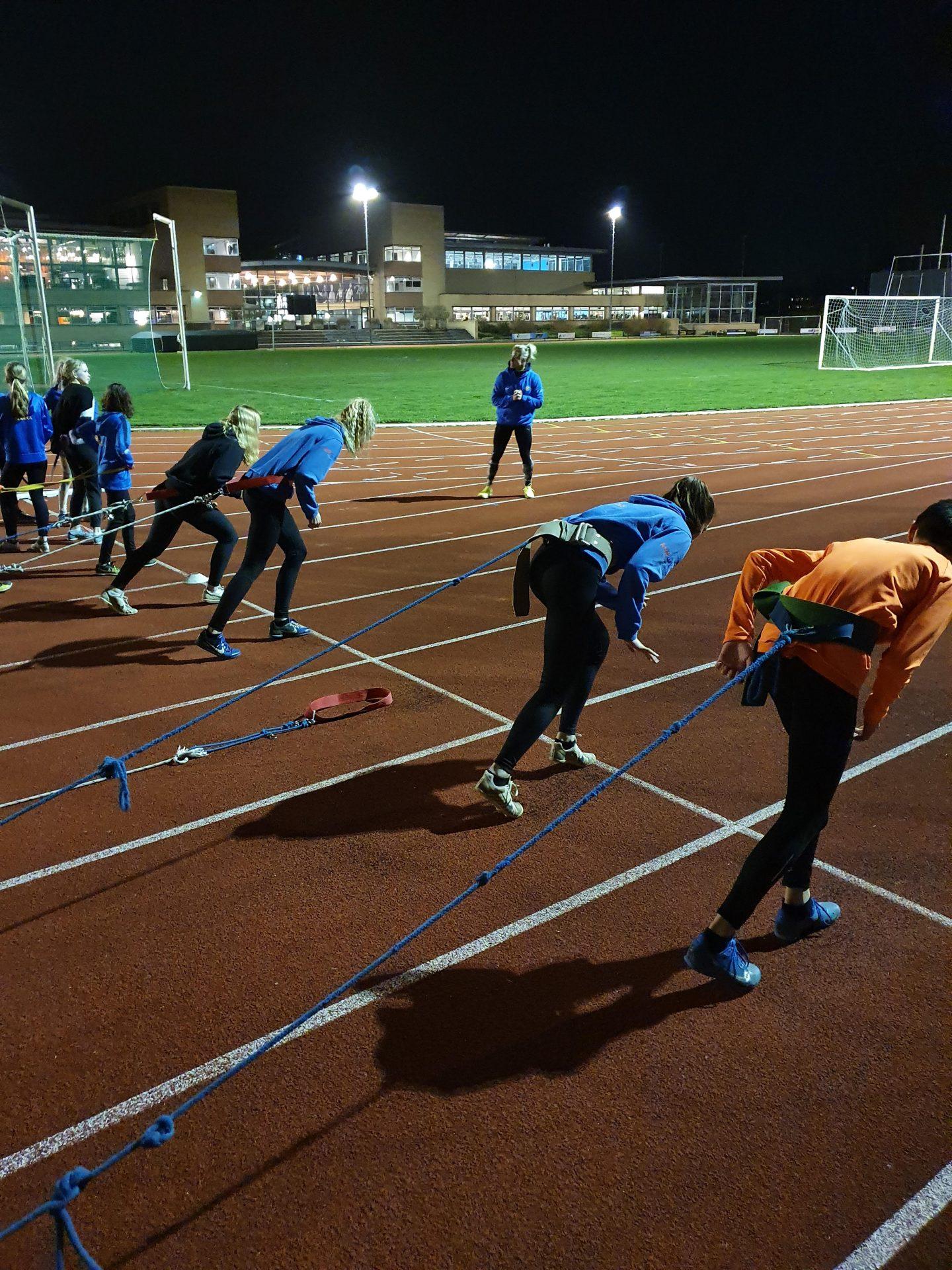 Nationaal Kampioene Op Sprint Jolene Jacobs Geeft Training Bij GAC
